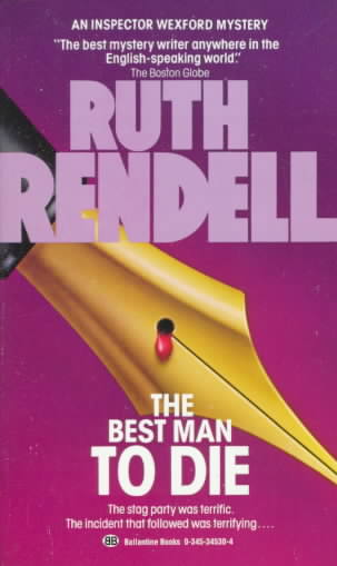 The Best Man to Die By Rendell, Ruth